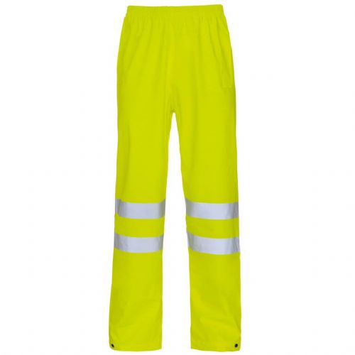 Supertouch Storm-Flex Yellow Hi Vis Trousers